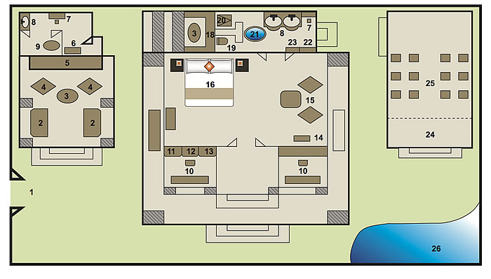 royal house layout